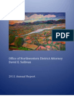 Northwestern District Attorney 2011 Annual Report