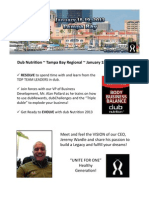 Tampa Regional Promotional Flier