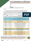 Memo 201301 - Second Revision of Ateneo COMELEC Calendar for SY 2012-13, 2nd Semester