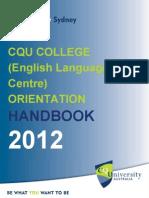 CQU College Handbook T312