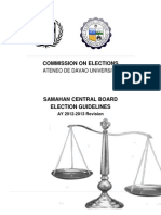 Electoral Code - Samahan 2012
