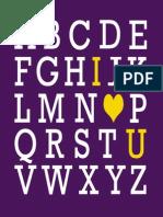 8x10 Purple