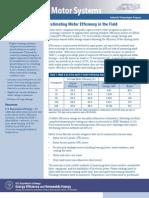 Estimate Motor Efficiency Motor Systemts2