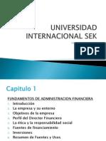 Administración Financiera Introduccion