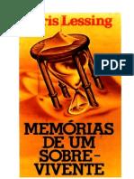 Doris Lessing - Memórias de um Sobrevivente