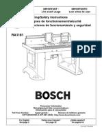 Bosch Routertable