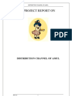 Distribution Channel AMUL