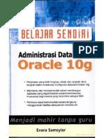 Administrasi Database Oracle 10g