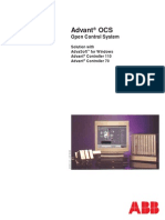 3bse007295r0201 - En Advant Ocs - Open Control System Solution With Advasoft for Windows Advant Controller 110 and Ad