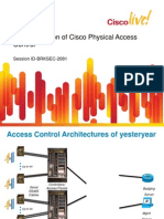 Implementation of Cisco Physical Access Control Solutio