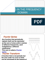 Filtering in the Frequency Domain
