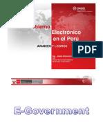 el gobierno electronico del Peru