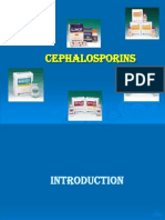 Details of cephalosporin and their classification