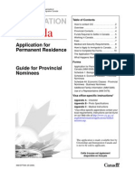 Guidance to CANADA Residency
