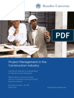 BRU MSMPP WP Mar2012 Construction Industry