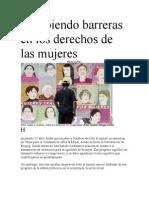 Rompiendo Barreras en Los Derechos de Las Mujeres