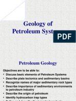 geology of petroluem systems