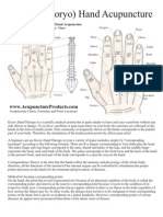 Korean hand Acupuncture