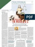 Intervista a Francesco Saverio Borrelli Sui Criteri Per Valutare - Repubblica 05.01.2013