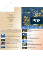 Programme Pause Nature-2013