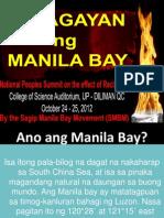 Reclamation plan for  Manila Bay