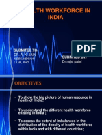 Health workforce in India