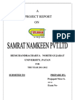 Samrat Namkeen Pvt.Ltd