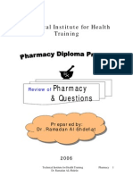 Pharmacist exam