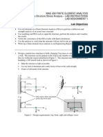 Lab_assignment_1 Structural Finite Element Analysis