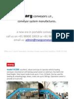 Marg Conveyors LLP_mobile Conveyors