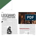 Marco Belpoliti Sui Grandi Romanzieri, Maestri Di Vita e Di Rivolta - L'Espresso 05.01.2013