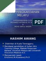Teori Pengkaedahan Melayu