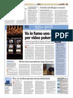 Castelvetro (Modena) All'Arci via i videopoker, largo al presepe
