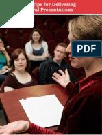 199 09 Ten Delivering Oral Presentations