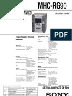 MHC-RG90 versão 1.1