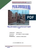 INFORME Nº 01 - VIRGEN DEL CARMEN - SUPERVISOR