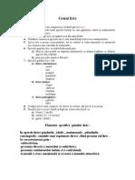 Elemente Specifice Genului Liric