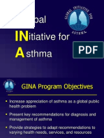 GINA - Global initiative for Asthma