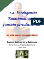 INTELIGENCIA EMOCIONAL Y LA FUNCIÓN JURISDICCIONAL