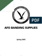 Banding Catalog