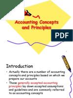 Accounting concept & principle