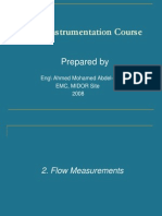 Instrumentation Basics -02- Flow Measurement