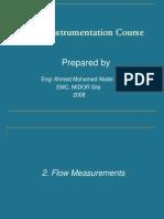Instrumentation Basics -02- Flow Measurement