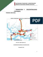 centralidad, transición y descentralidad urbana