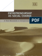 Entrepreneurship as
