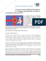 Mensaje de fin de año de D. Rafael Evita Ika al Pueblo Ndôwé