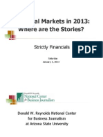 Financial Markets in 2013