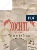 Xochitl Corn Chips Product Packaging
