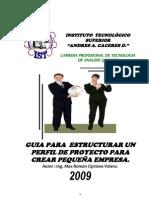 GUIA APARA CREAR PEQUEÑA EMPRESA