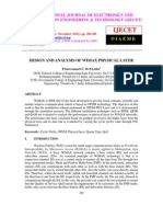 Design and Analysis of Wimax Physical Layer